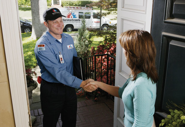 in-home estimate from Pardee Service Experts Heating & Air Conditioning